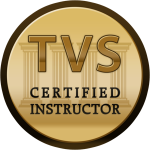 TVS Certified Instructor Badge Sil Fiore East London Voice Coach